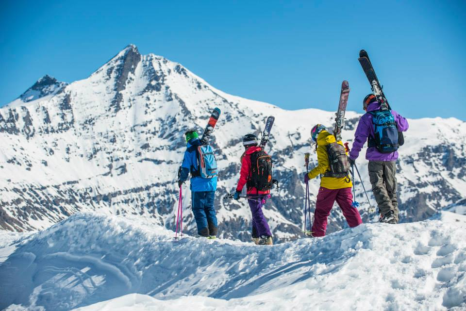 Planning a ski holiday with friends