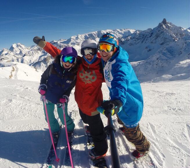 ski style mountain