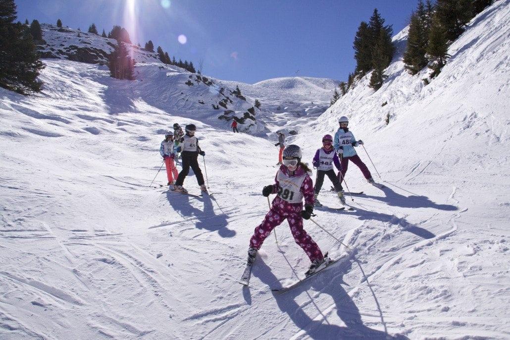 New Gen kids ski school