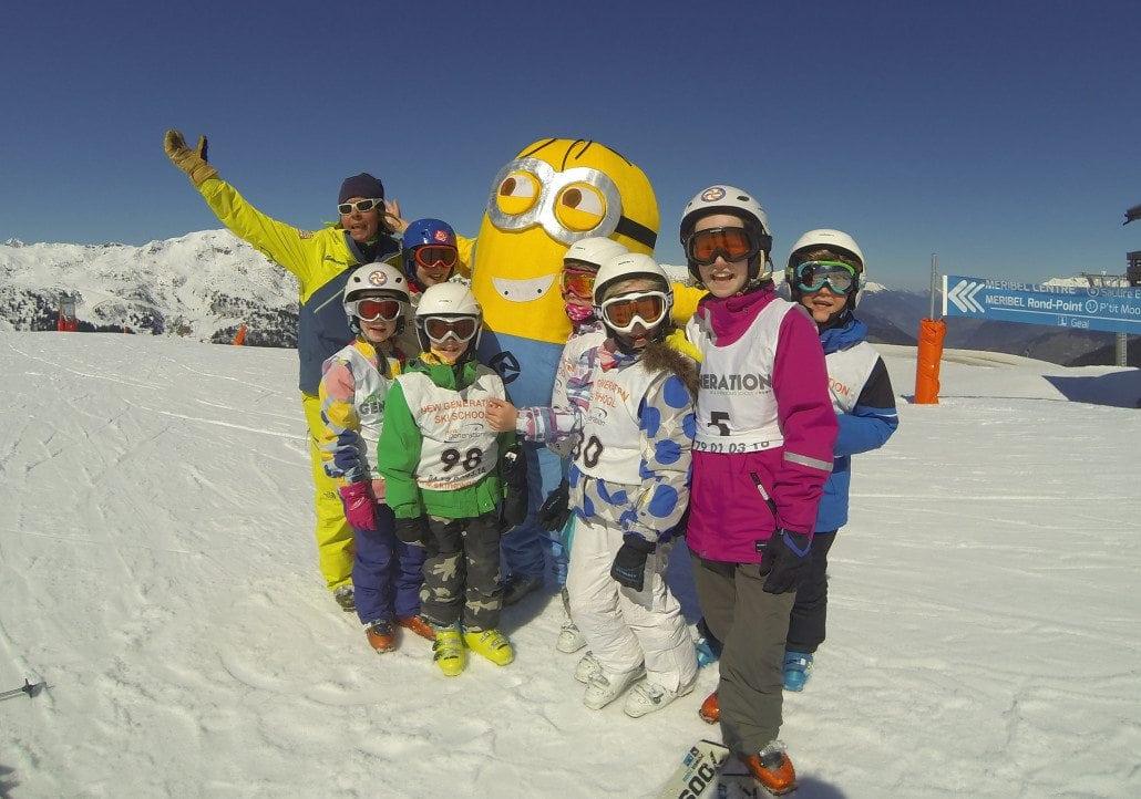 children's ski school