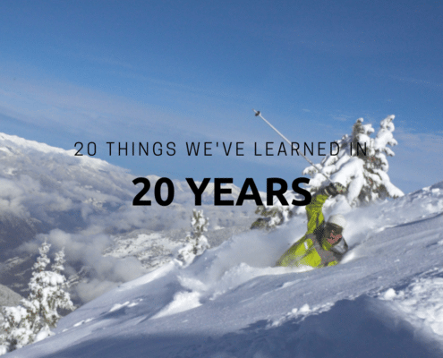 20 things we've learned in 20 years