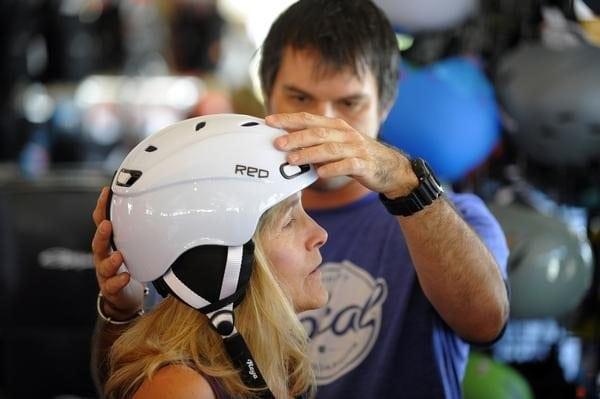 pre-season ski helmet maintenance