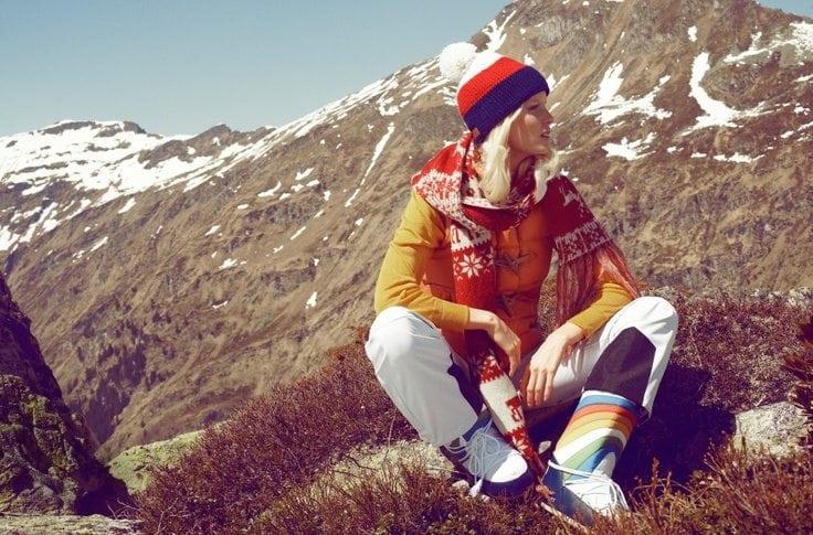 1970's ski style moon boots