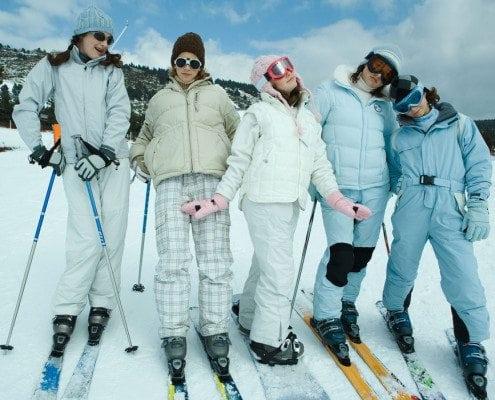 2000s ski style puffy