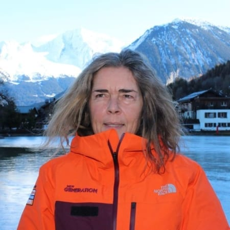 Agnes Simonet - Meribel Ski Instructor