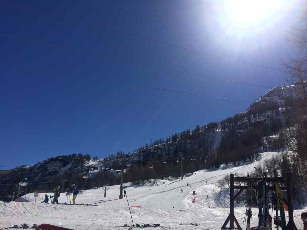 val d'isere snow report