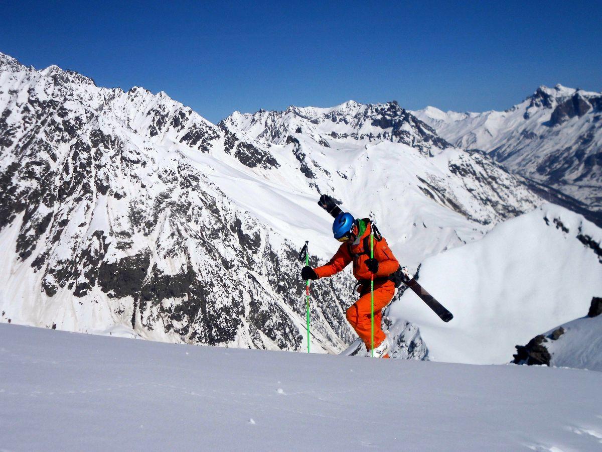 End of season ski