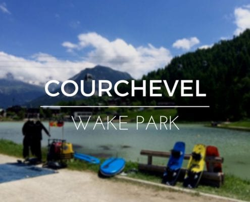 WAKE PARK IN COURCHEVEL