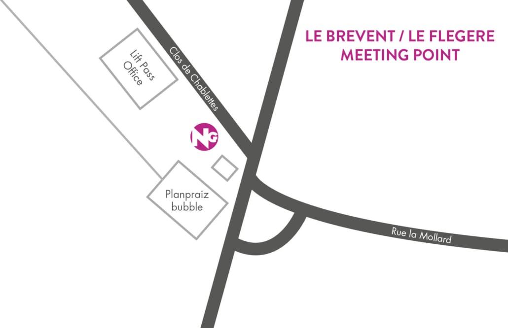 Chamonix Le Brevent / Le Flegere Meeting Point
