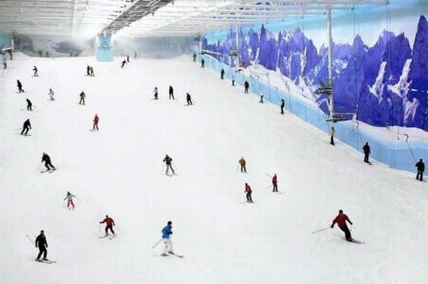 Chill Factore Skiing