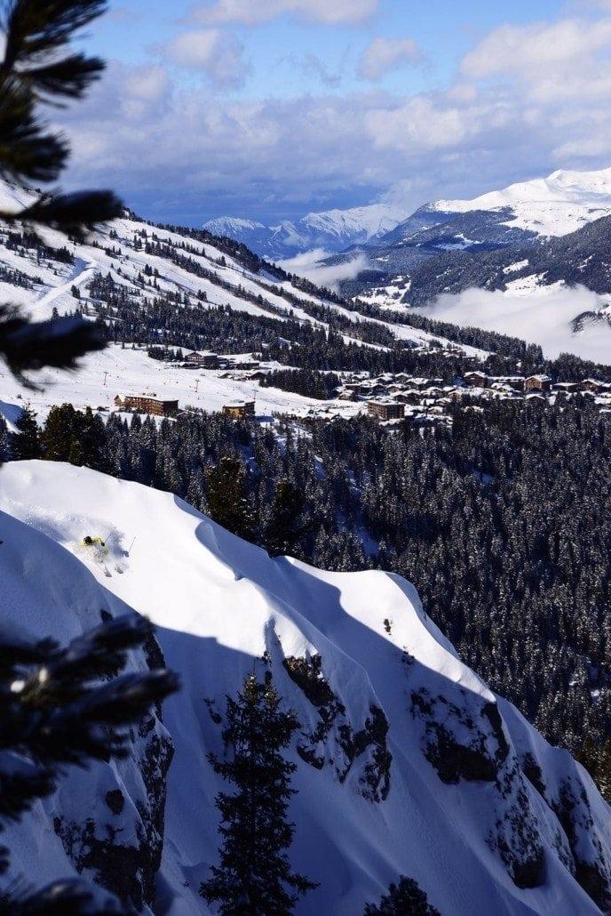 snow report courchevel