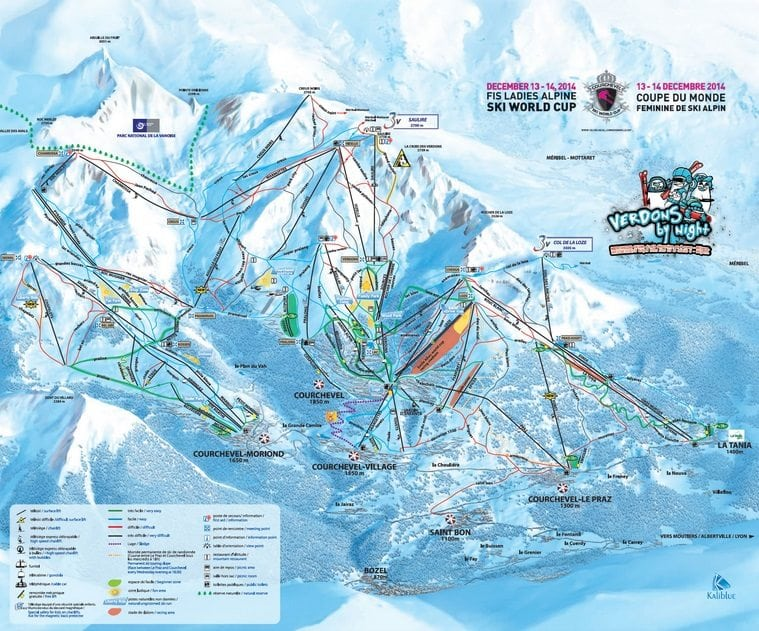 La Tania Ski Resort Guide New Generation Ski Snowboard