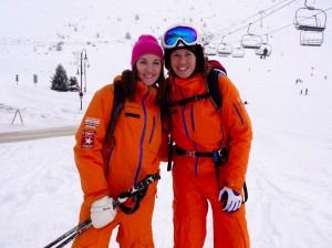 Amy and Tess from New Generation Tignes
