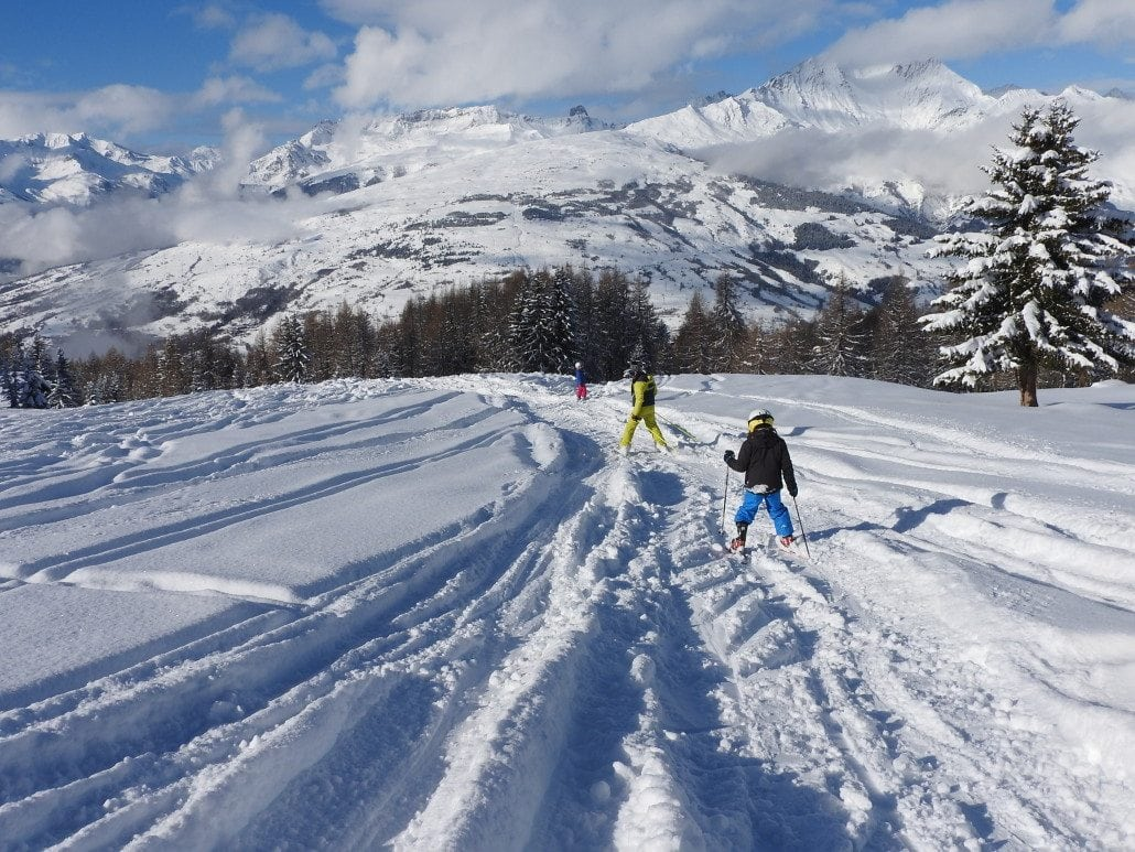 Les Arcs Ski Instruction Snow Report