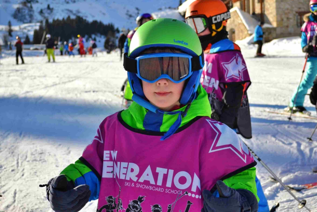 How to Dress Your Child for Skiing
