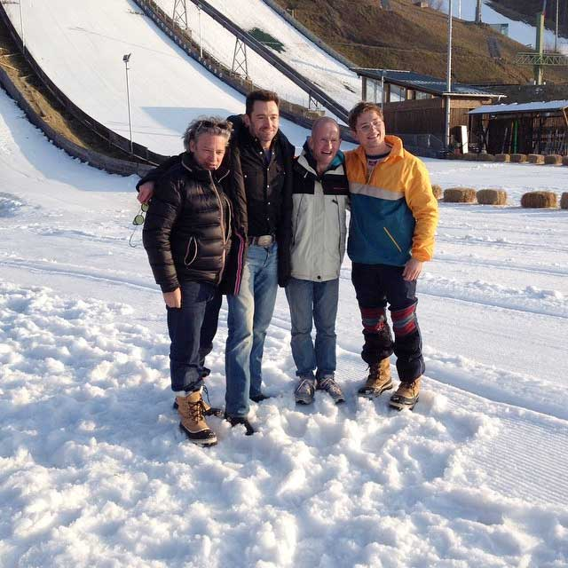 Eddie The Eagle Film Cast
