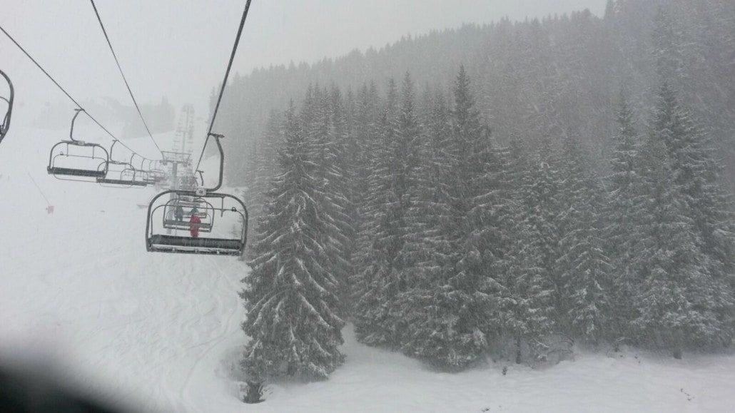 Morzine snow