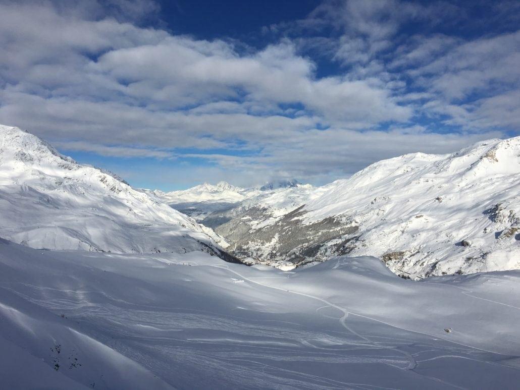 Skiing Tignes