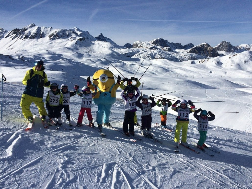 Tignes Ski Lesson Snow Report