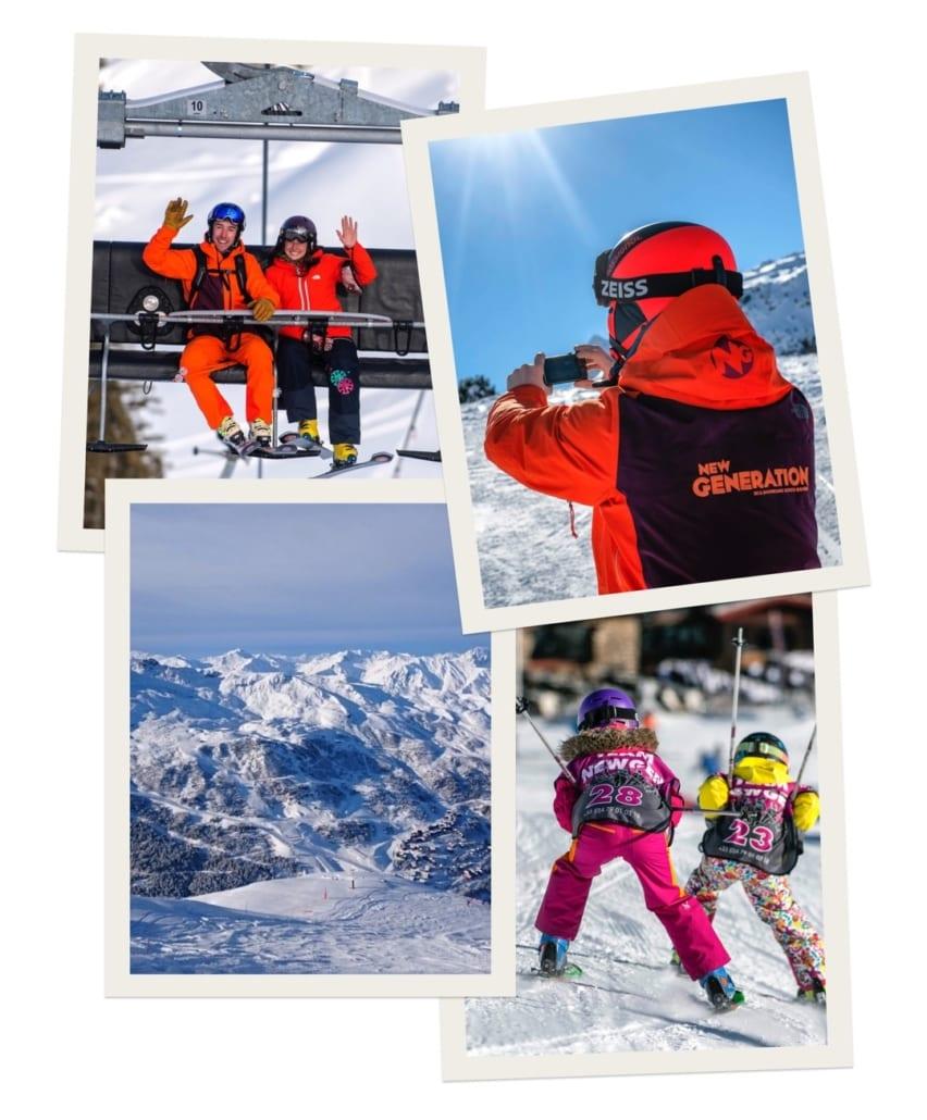 Ski holiday memories