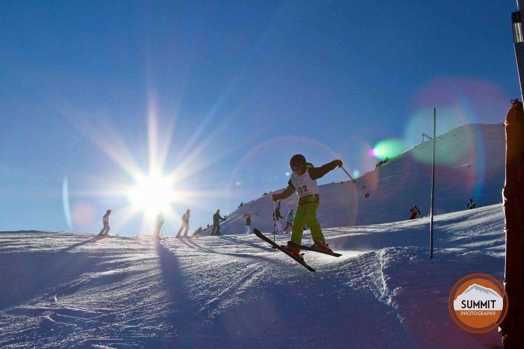 Kids Ski Photography in Méribel