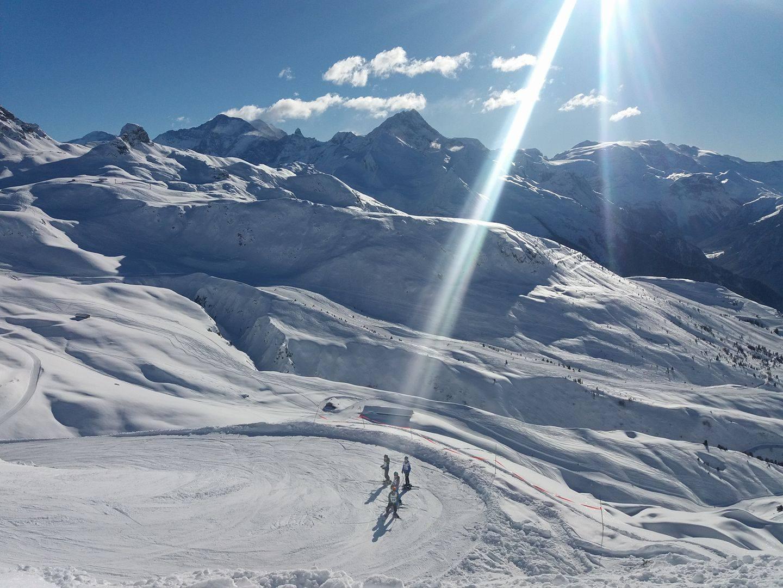 Ski in la plagne