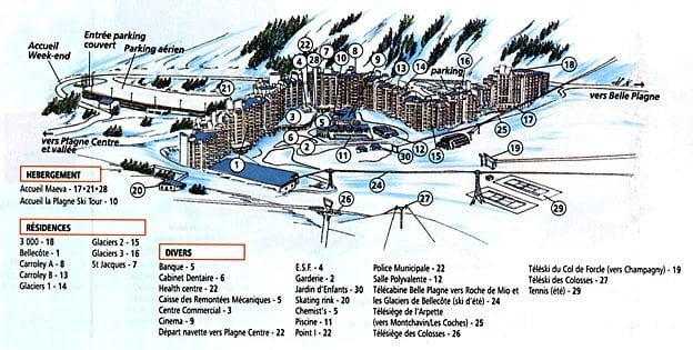 La Plagne Ski Resort Guide New Generation Ski Snowboard School