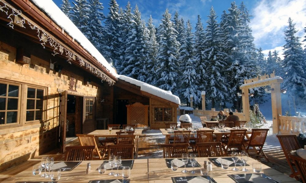 best restaurants meribel