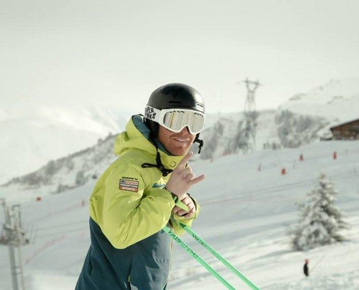 Lewis MacLellan instructor in Meribel