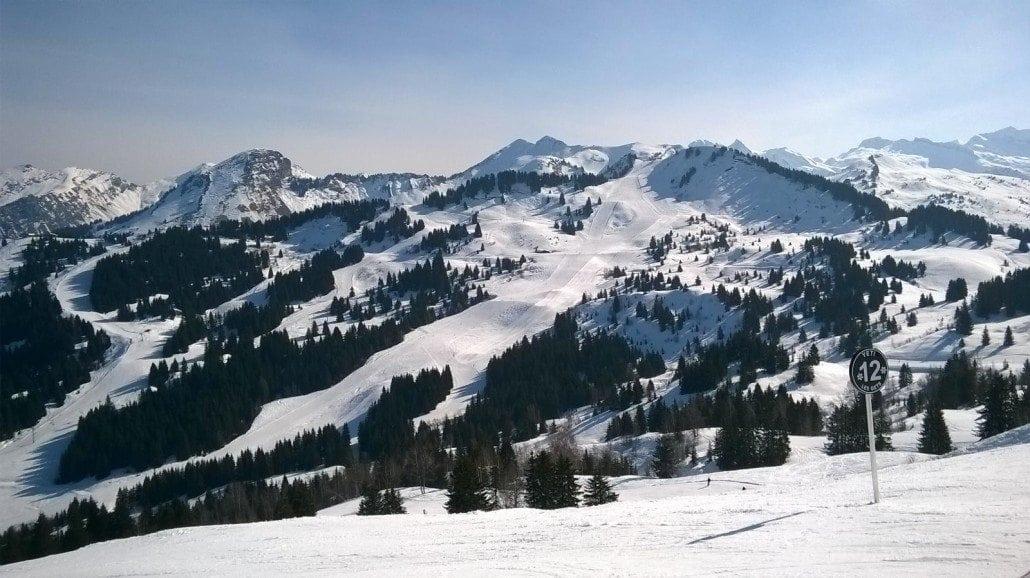 snow report Morzine