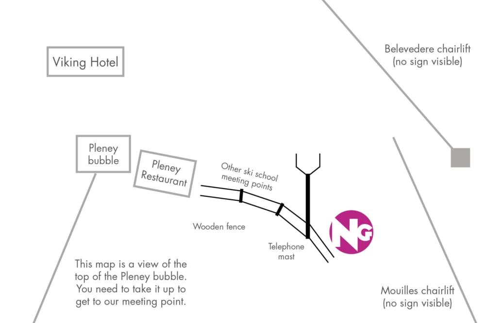 Morzine Ski School Meeting Point