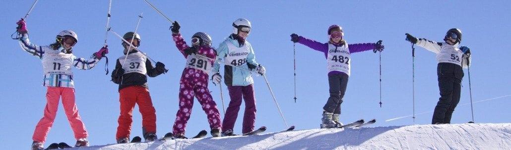 book a ski lesson