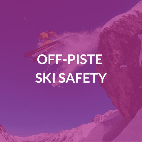Off-Piste Ski Safety