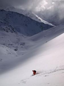 Bonhomme du Tsapi -the descent