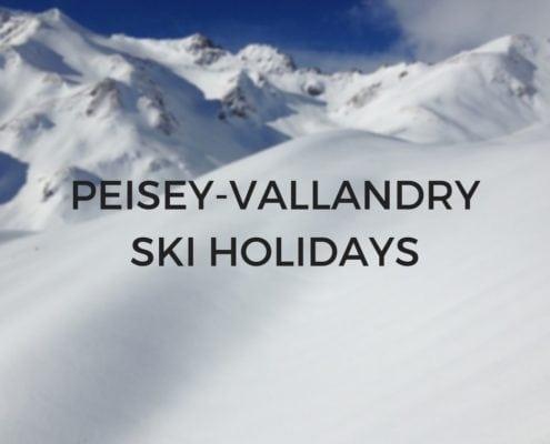 Peisey-Vallandry Ski Holidays