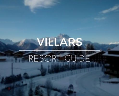 Villars Resort Guide