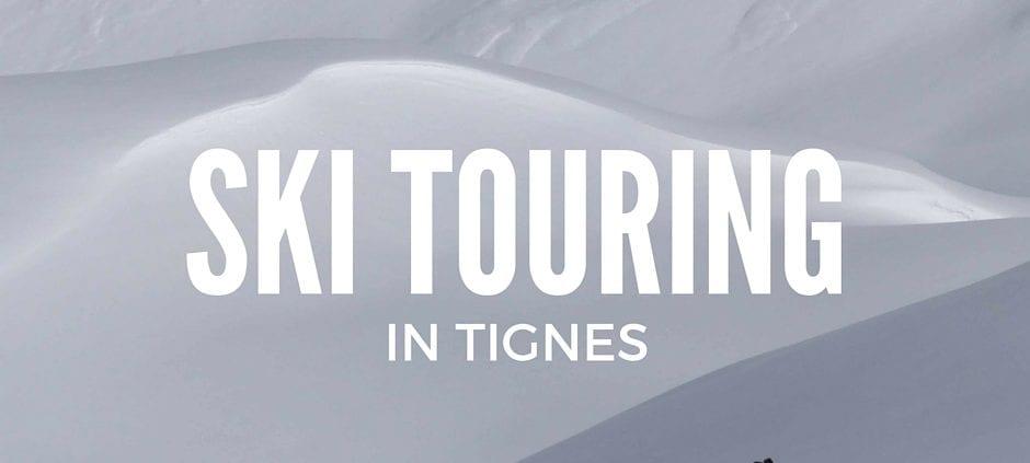 ski touring in tines