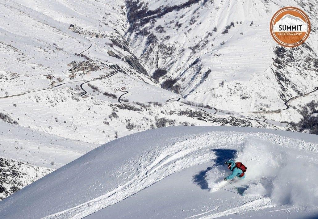 Ski Photography in Méribel