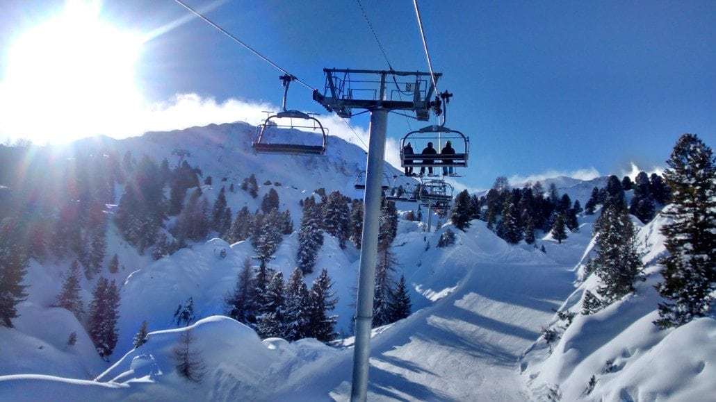 best ski resorts for beginners la plagne