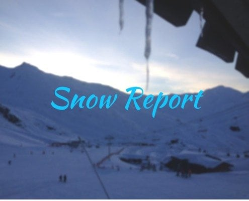 snow report in the alps