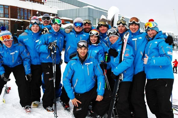 experienced ski school courchevel