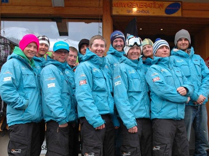experienced ski school