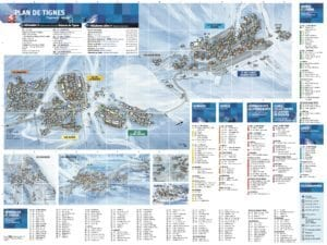 tignes-street-map