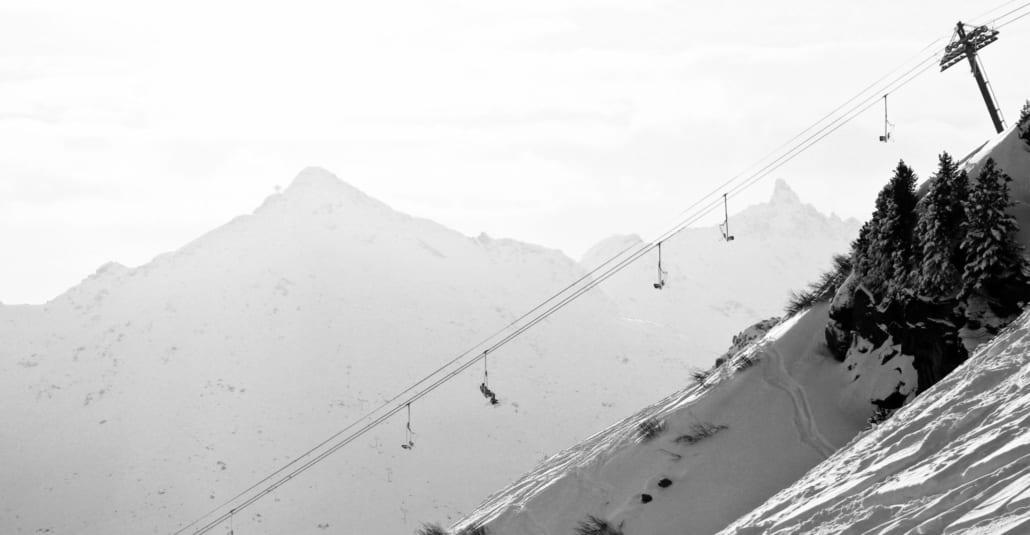 Skiing in Vallandry