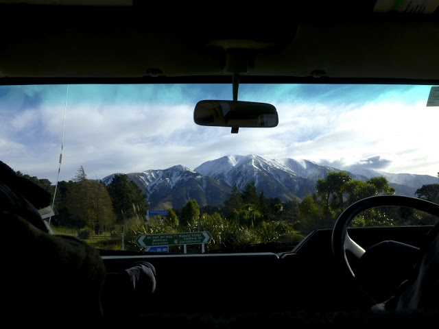 Check out the view of Mt Hutt