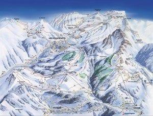 Villars piste map