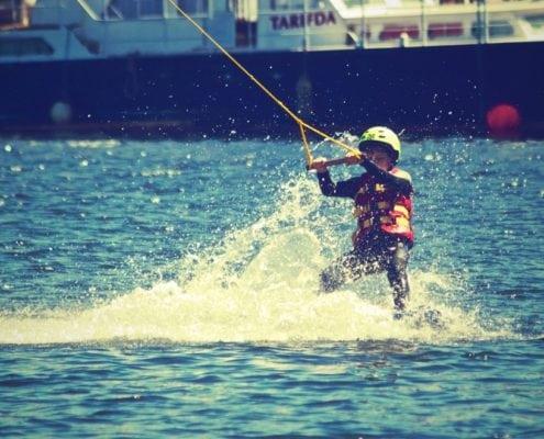 Waterskiing vs Skiing