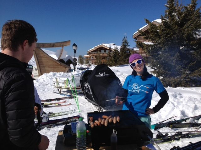 Spring BBQ in Courchevel
