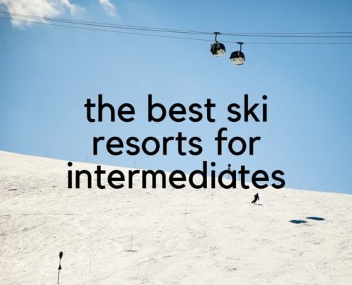 best ski resorts for intermediates