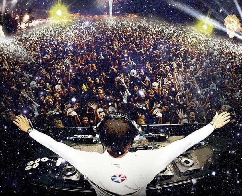 Courchevel DJ new year